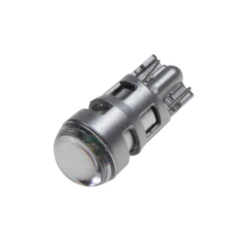 CREE LED T10 bílá, 12V, 5W s čočkou