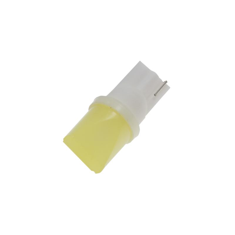 LED T10 bílá, 12V, 3D 1W