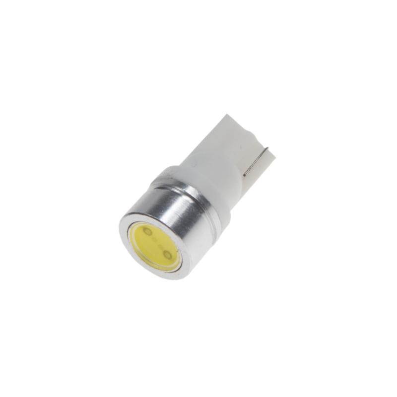 LED T10 bílá, 12V, 1LED/1W superradio