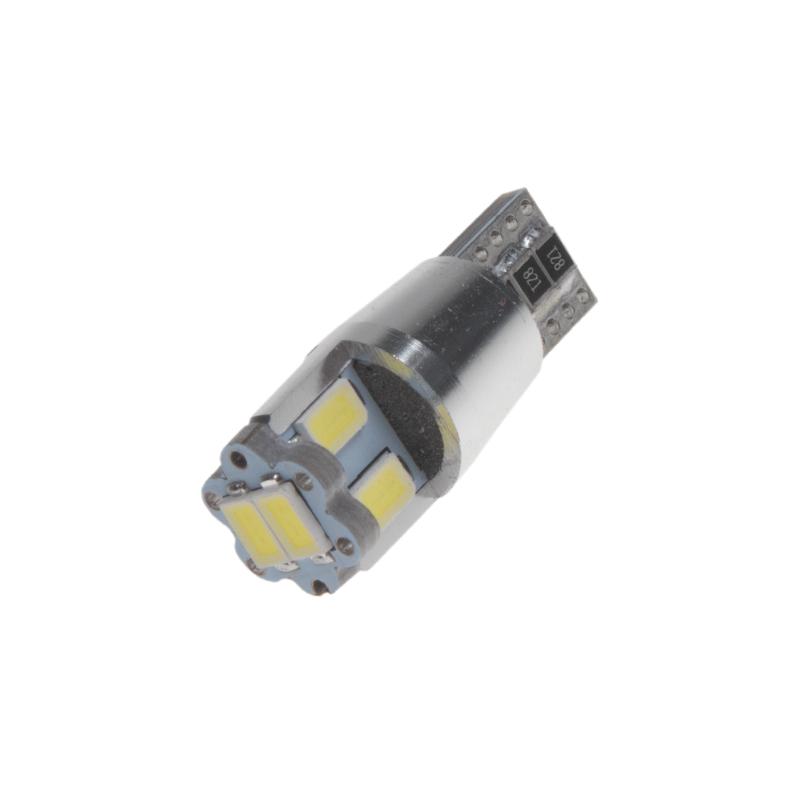 LED T10 bílá, 12V, 6LED/5630SMD