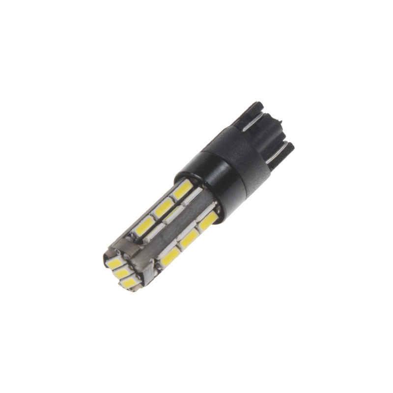 LED T10 bílá, 12V, 27LED/4014SMD
