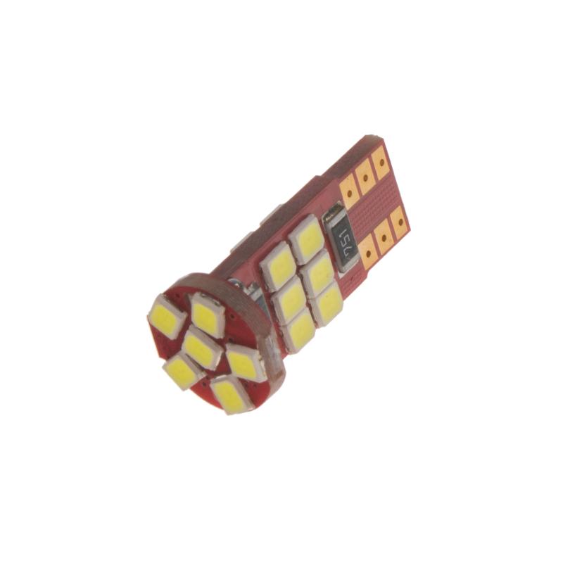 LED T10 bílá, 12V, 18LED/2835SMD