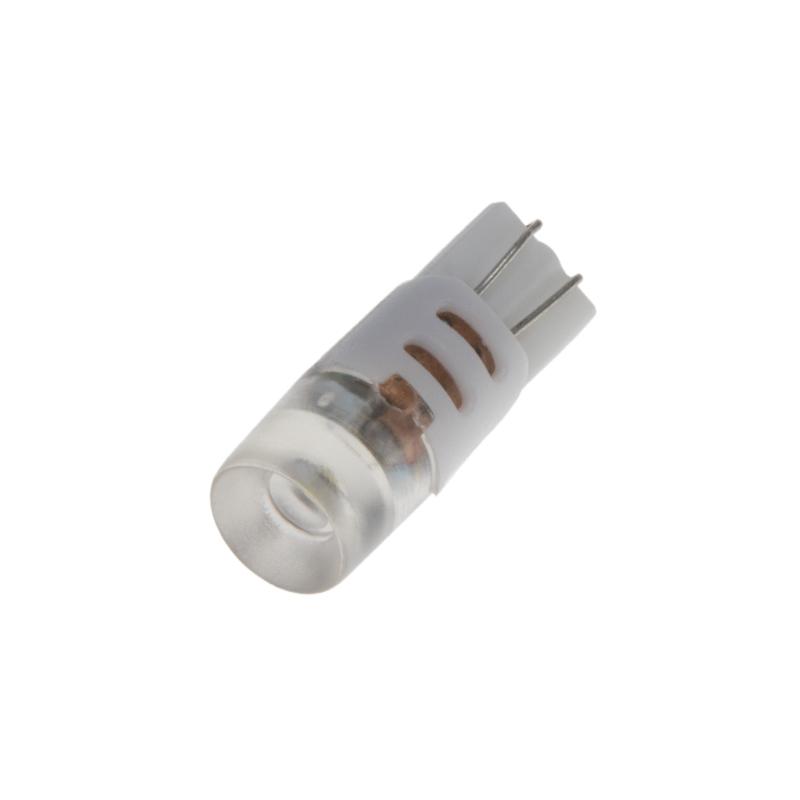 LED T10 bílá, 12V, 3LED/1,5W