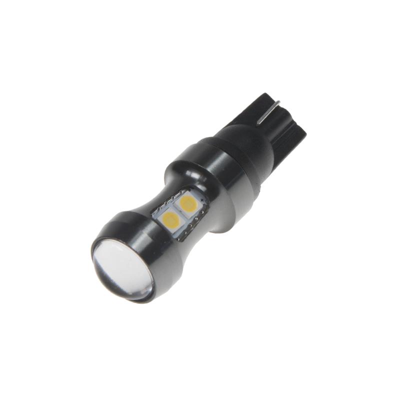 LED T10 bílá, 12-24V, 9LED/3030SMD