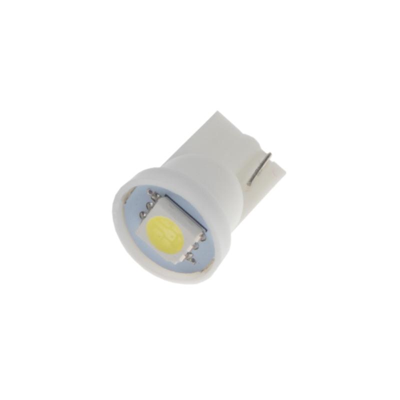 LED T10 bílá, 12V, 1LED/3SMD