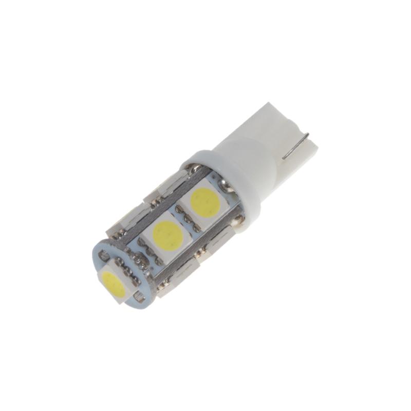 LED T10 bílá, 24V, 9LED/3SMD
