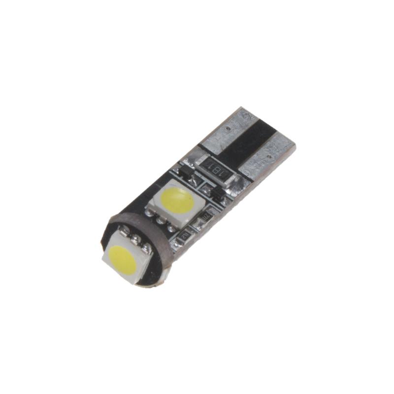 LED T10 bílá, 12V, 3LED/3SMD