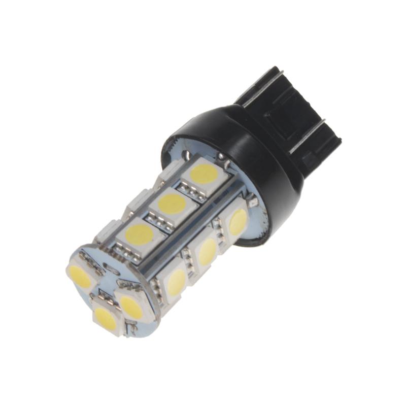 x LED T20 (7443) bílá, 12V, 18LED/3SMD