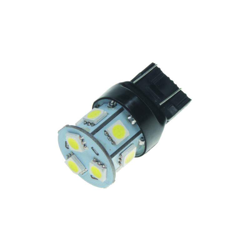 LED T20 (7443) bílá, 12V, 9LED/3SMD