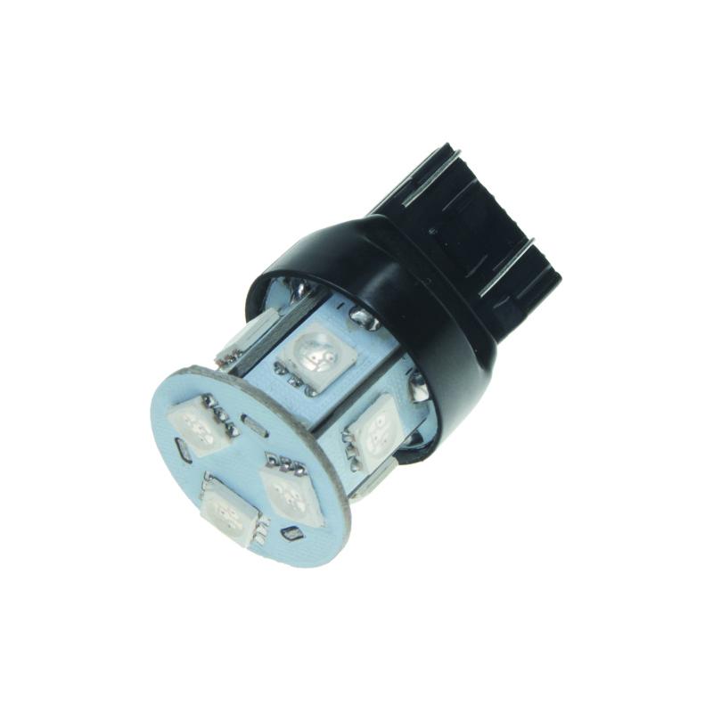 LED T20 (7443) oranžová, 12V, 9LED/3SMD
