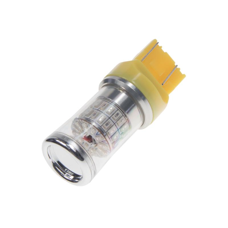 TURBO LED T20 (7443) oranžová, 12-24V, 48W