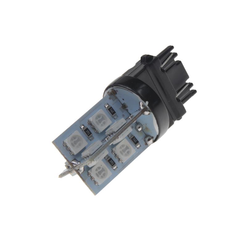 LED T20 (3157) červená 12V, 16LED/3SMD