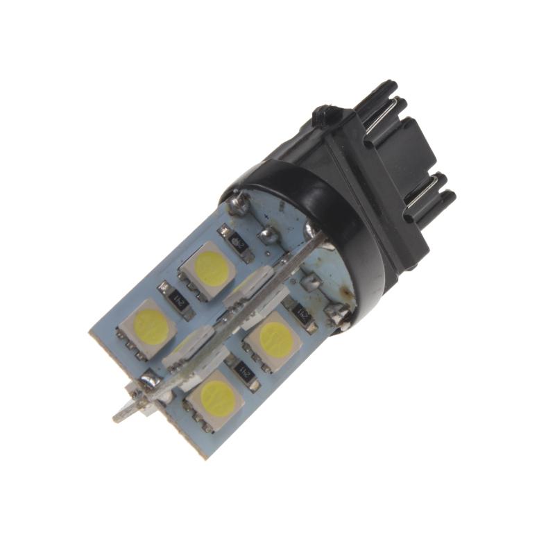 LED T20 (3157) bílá, 12V, 16LED/3SMD