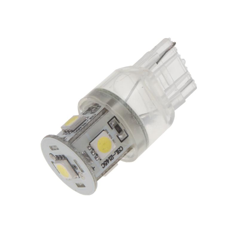 LED T20 (7440) bílá, 12V, 5LED/3SMD