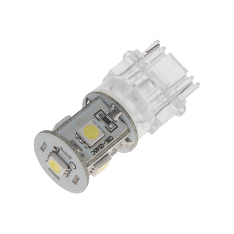 LED T20 (3156) bílá, 12V, 5LED/3SMD