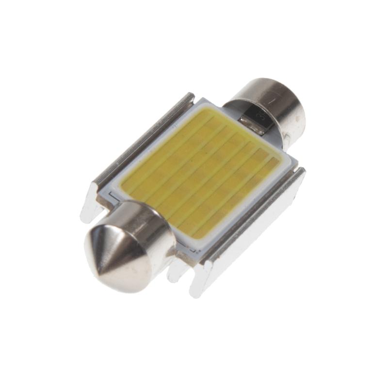 LED sufit (39mm) bílá, 12V, COB