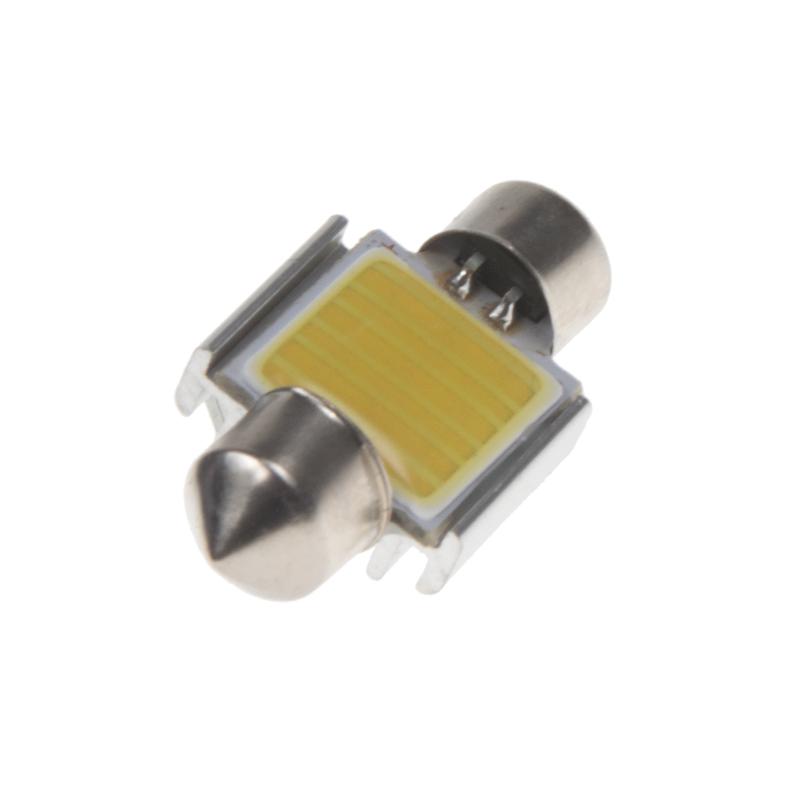 LED sufit (31mm) bílá, 12V, COB