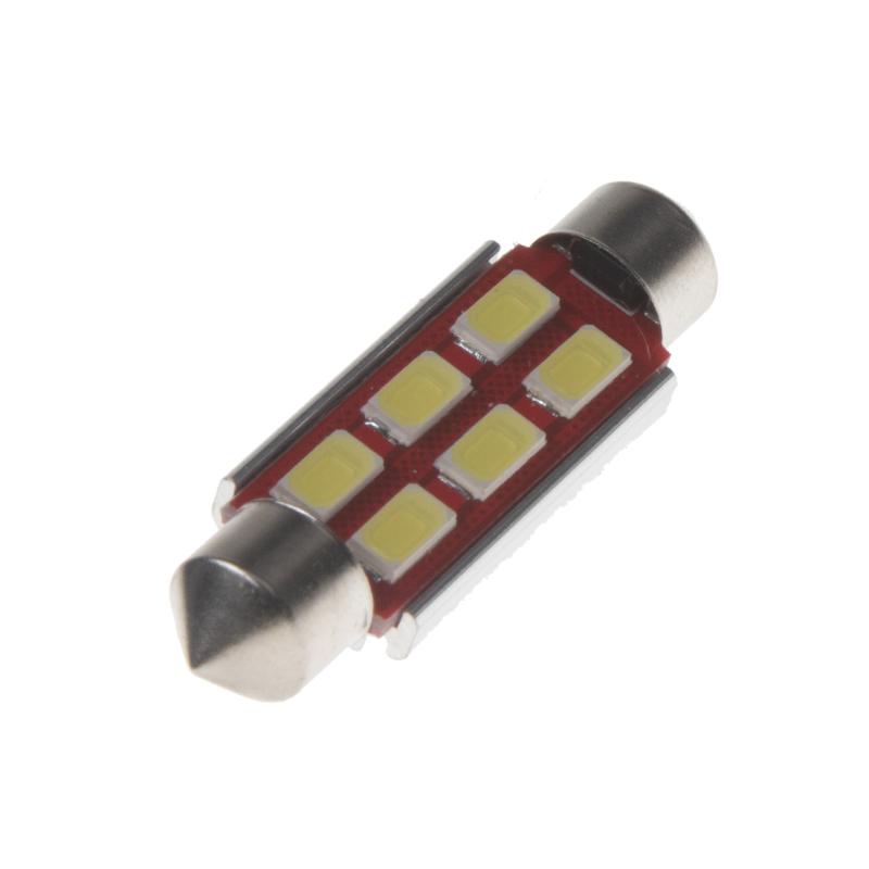 LED sufit (42mm) bílá, 24V, 6LED/5730SMD s chladičem