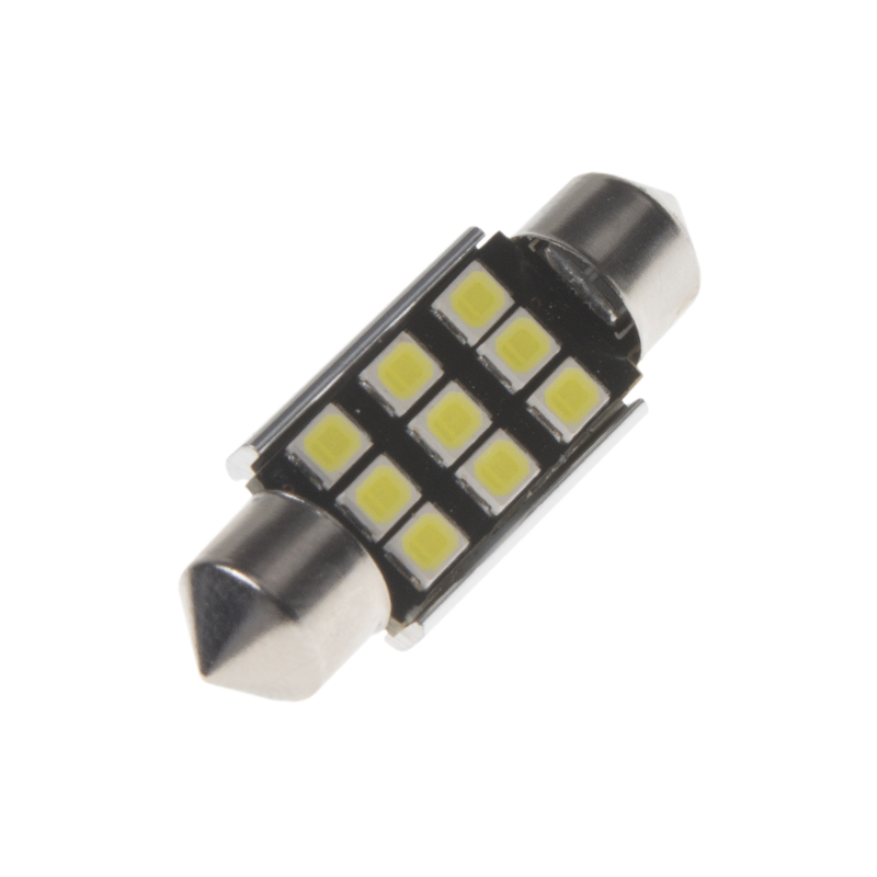 LED sufit (36mm) bílá, 12V, 9LED/2835SMD s chladičem