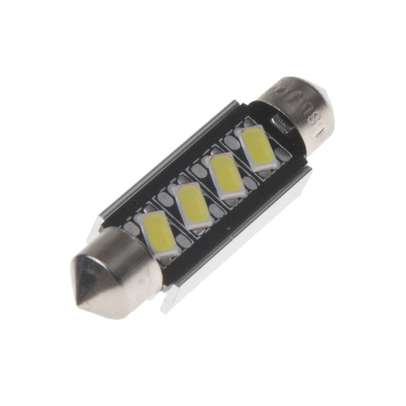 LED sufit (42mm) bílá, 12V, 4LED/5630SMD s chladičem