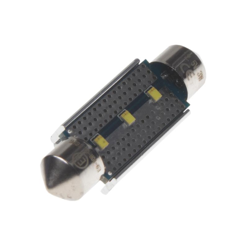 LED sufit (39mm) bílá, 12V, 3LED/Philips ZES chip