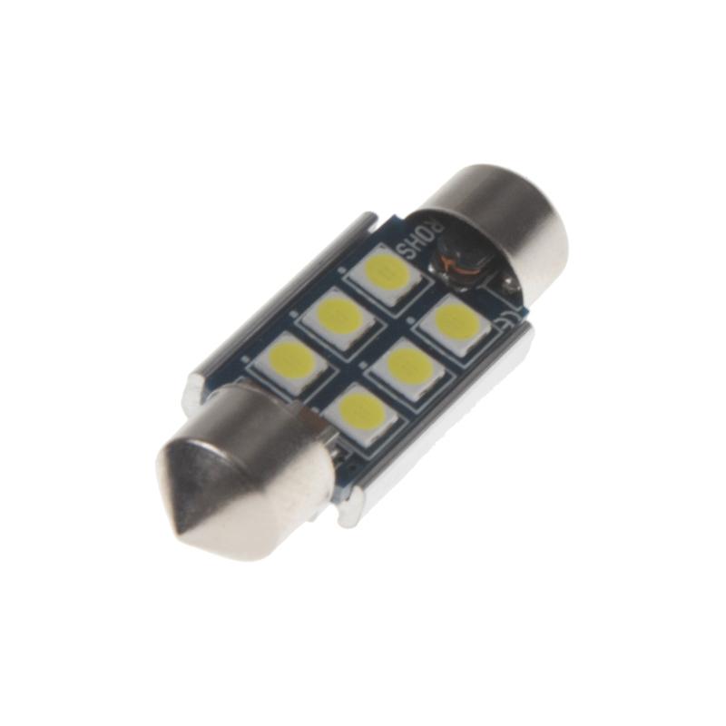 LED sufit (36mm) bílá, 12V, 6LED/3030SMD