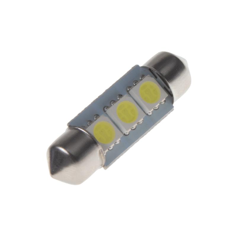 LED sufit (36mm) bílá, 24V, 3LED/3SMD