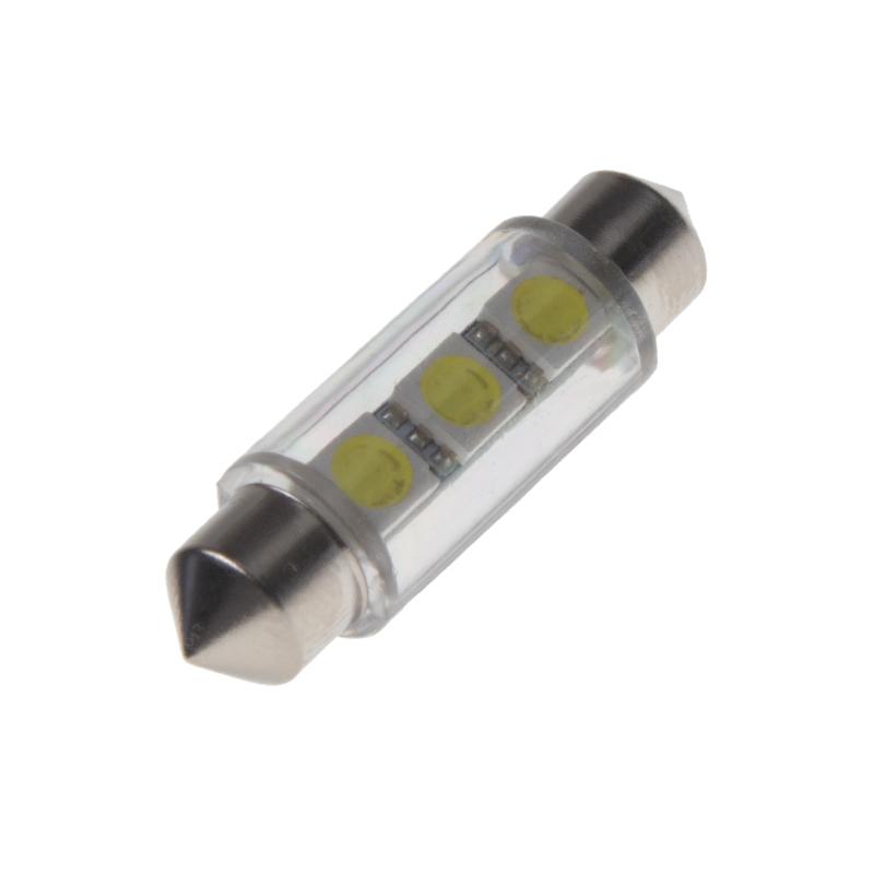LED sufit (39mm) bílá, 12V, 3LED/3SMD