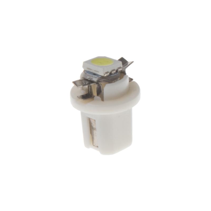 Mini LED B8,5 bílá/3SMD