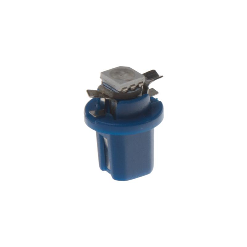 Mini LED B8,5 modrá/3SMD