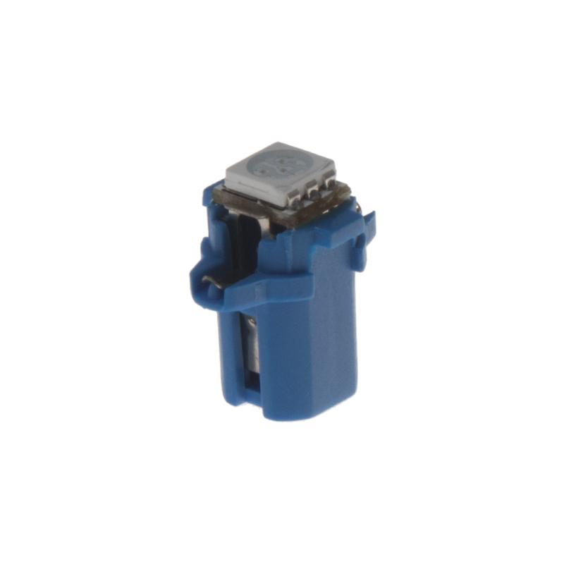 Mini LED B8,3 modrá/3SMD