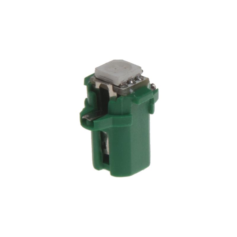 Mini LED B8,3 zelená/3SMD