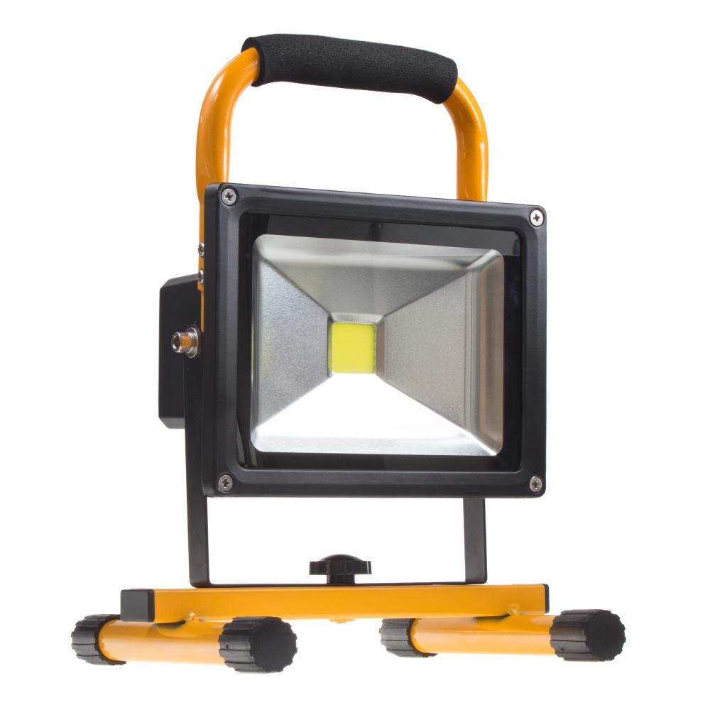 LED 1x20W pracovní světlo, dosvit 12 m