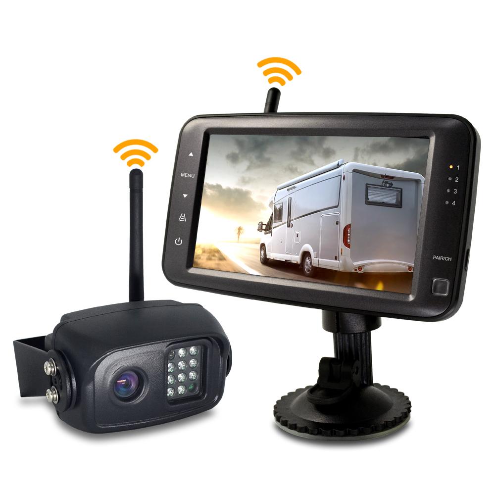 SET bezdrátový digitální kamerový systém s monitorem 5