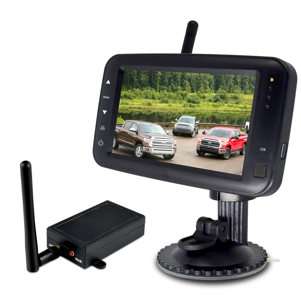 SET bezdrátový digitální kamerový systém s monitorem 4,3
