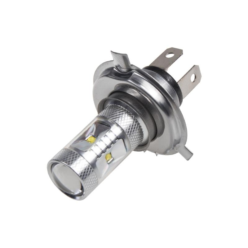 CREE LED H4 bílá, 12-24V, 30W (6x5W)