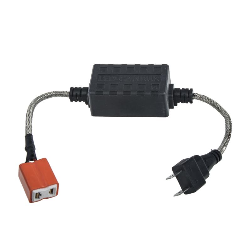 Digitální eliminátor chybových hlášení, rušení s redukcí pro žárovky H7