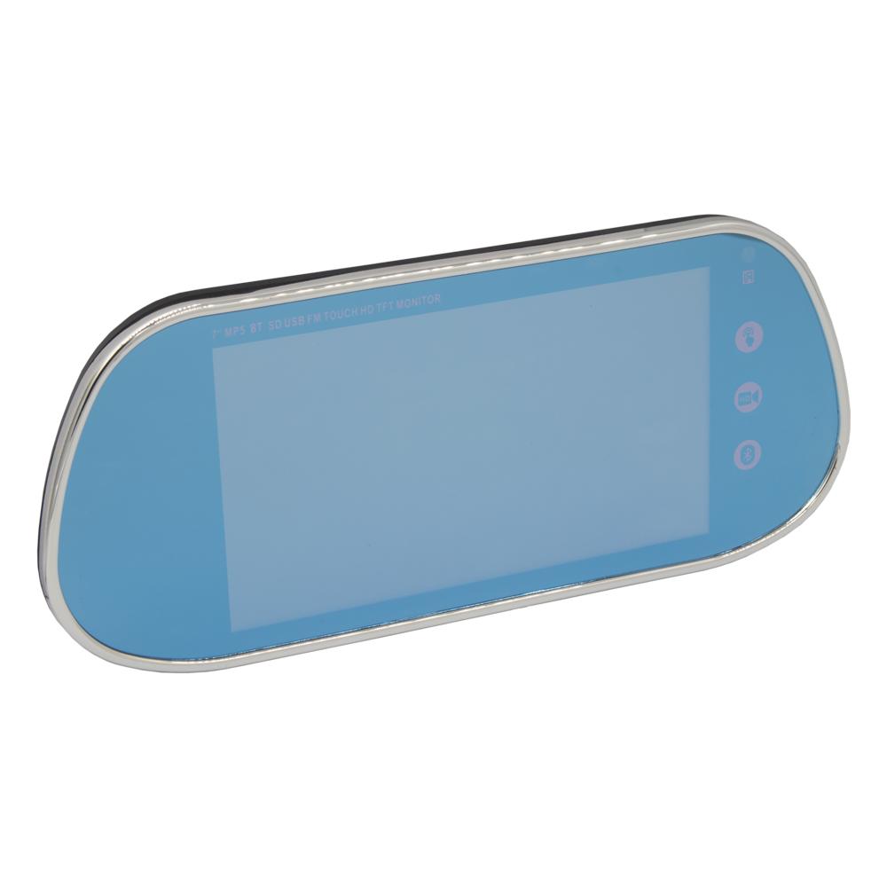 "LCD monitor 7"" na zrcátko s USB / SD slotem / Bluetooth"
