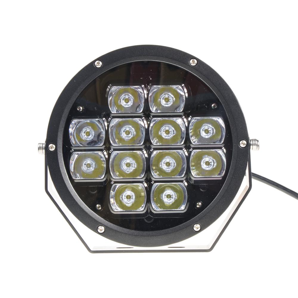 LED světlo přídavné/pracovní kulaté, 12-48V