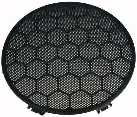 x PLAST pro repro VW GOLF III, orig. mřížka černá - přední