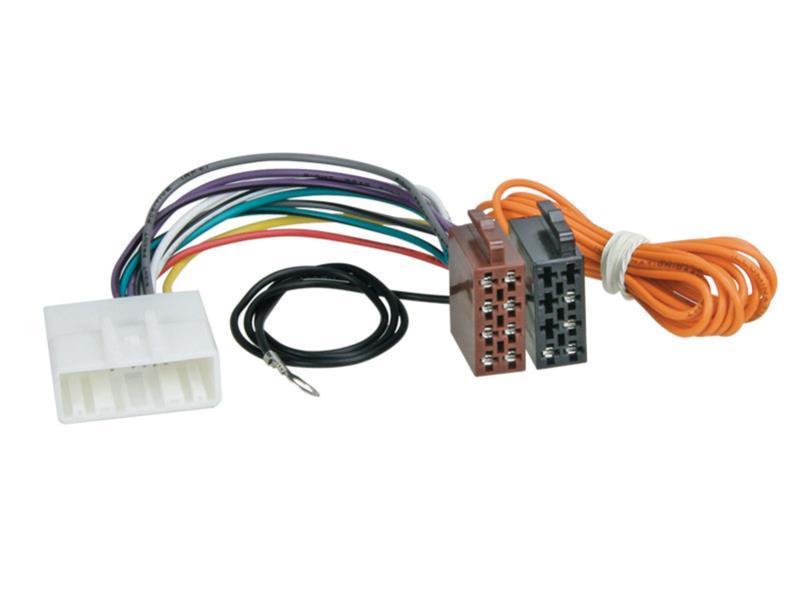 Konektor ISO Subaru 07-, Nissan 07-, Opel 2014-, Renault Twingo 09/2014-