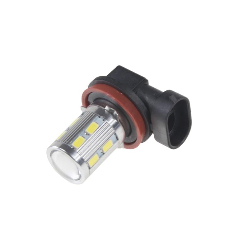LED H8 bílá, 10-30V, 12SMD 5630 + 3W