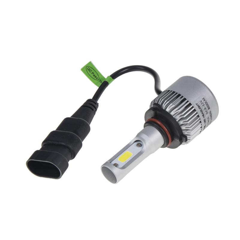 COB LED H10 bílá, 9-32V, 8000LM, IP65