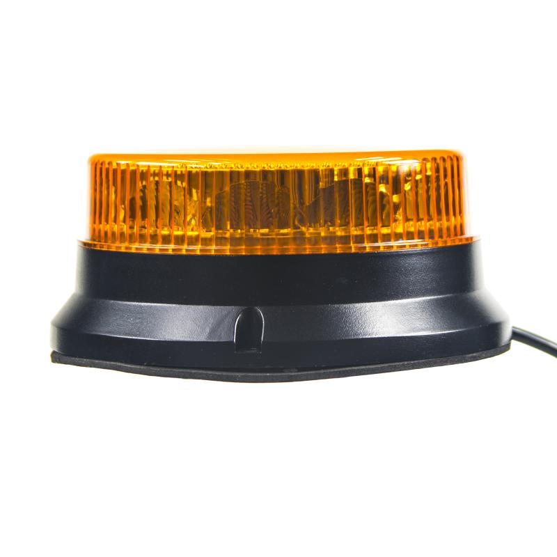 PROFI LED maják 12-24V 12x3W oranžový, 74x170mm, ECE R65