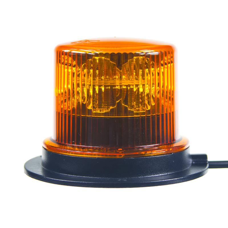 PROFI LED maják 12-24V 36x1W oranžový ECE R65 130x100 mm