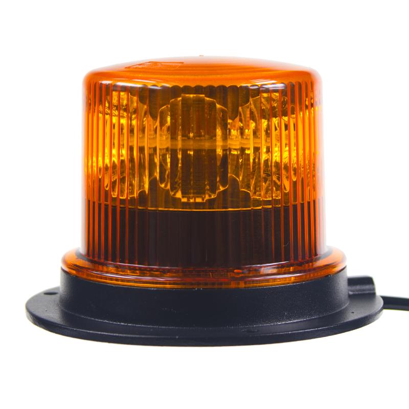 PROFI LED maják 12-24V 36x1W oranžový magnet ECE R65 130x90 mm