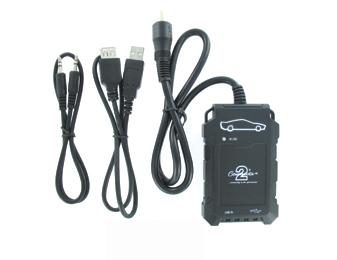 Connects2 - ovládání USB zařízení OEM rádiem Hyundai/AUX vstup