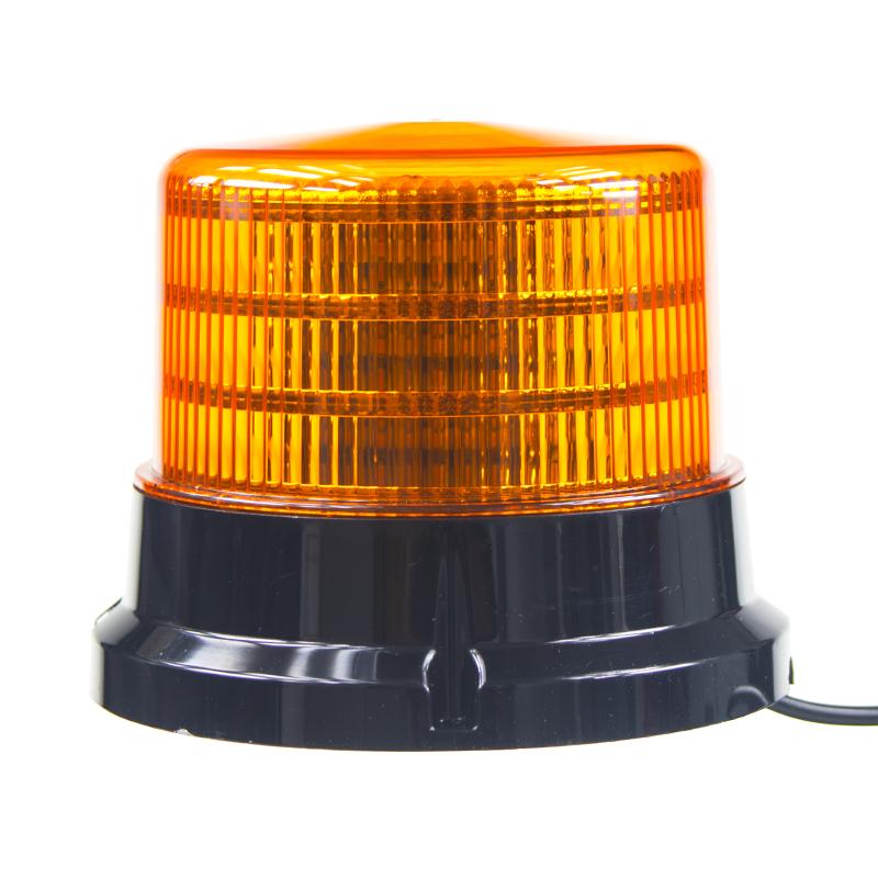 PROFI LED maják 12-24V 36x0,5W oranžový magnet ECE R65 167x132mm