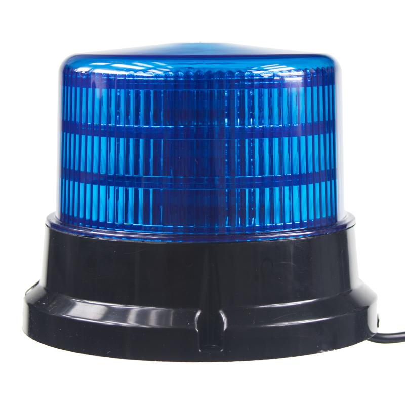 PROFI LED maják 12-24V 36x0,5W modrý magnet ECE R10 167x132mm