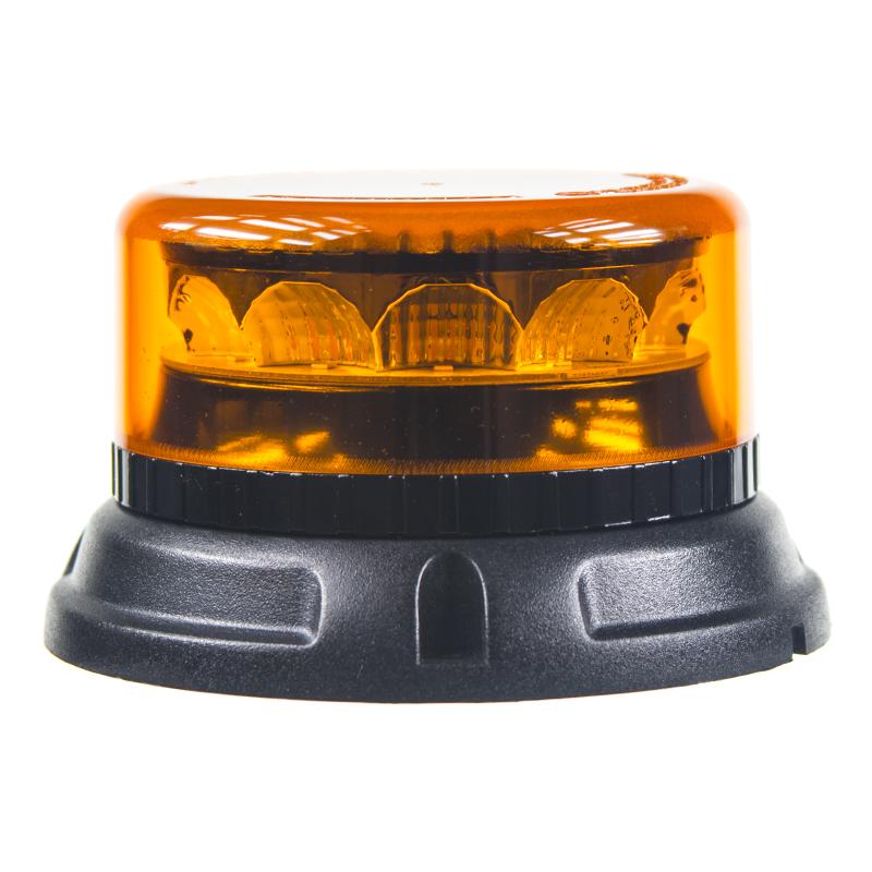 PROFI LED maják 12-24V 12x3W oranžový 133x76mm, ECE R65